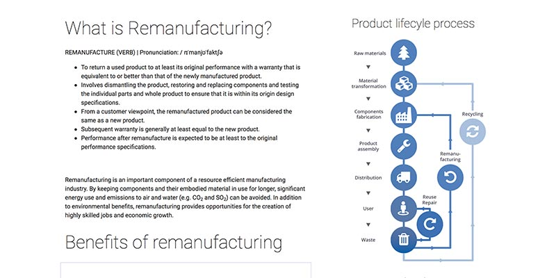 ERN : European Remanufacturing Network, Aylesbury