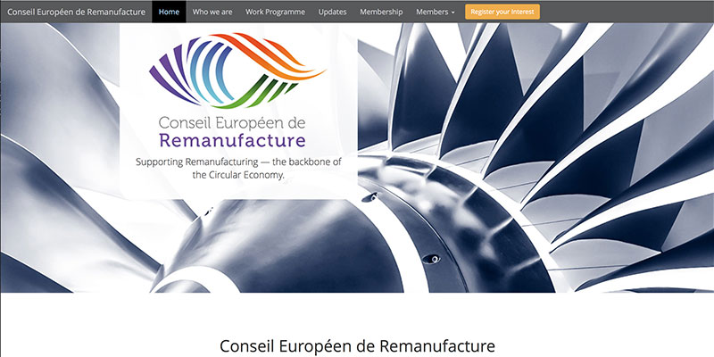 EU remanufacturing council website