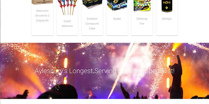 Fireworks ecommerce website design