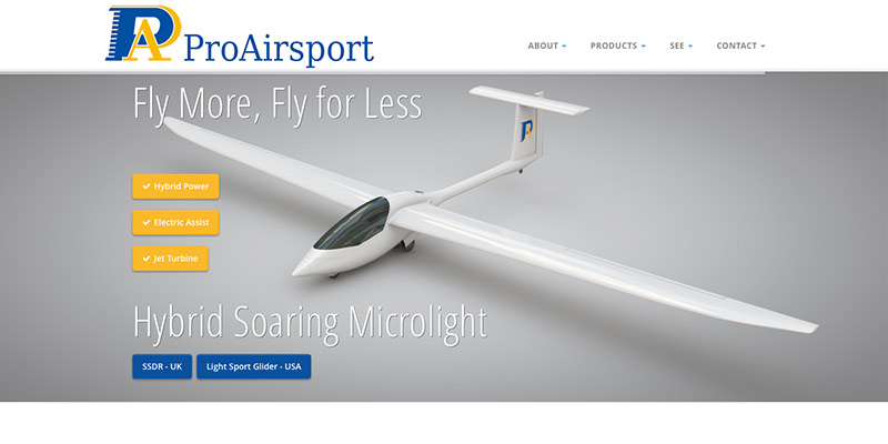 Aircraft designer website